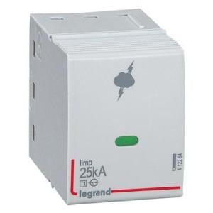 Cassette de remplacement pour parafoudres T1 + T2 Iimp 25kA LEGRAND