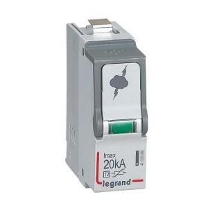 Cassette de remplacement pour parafoudre basse tension T2 Imax 20kA LEGRAND