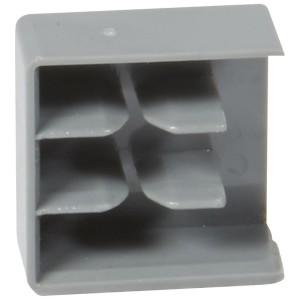 Capot d'extrémités pour peignes HX³ traditionnel bipolaire longueur 56 modules et peigne tripolaire LEGRAND