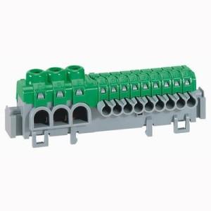Bornier de répartition IP2X à connexion automatique universel - L. 98mm LEGRAND