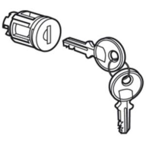Barillet à clé type 405 - pour porte métal ou vitrée XL³ - 1 jeu de 2 clés LEGRAND