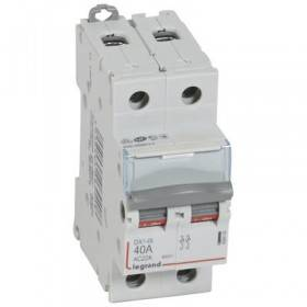 Interrupteur-sectionneur DX³-IS 2P 400V~ - 40A - 2 modules LEGRAND