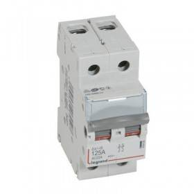 Interrupteur-sectionneur DX³-IS 2P 400V~ - 125A - 2 modules LEGRAND