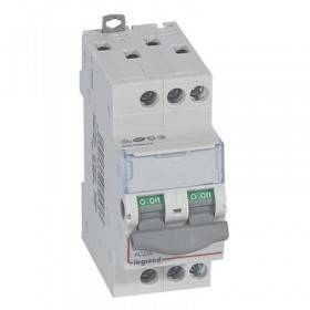 Interrupteur-sectionneur DX³-IS 3P 400V~ - 20A - 2 modules LEGRAND
