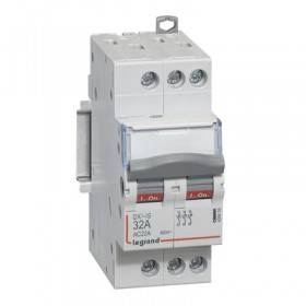 Interrupteur-sectionneur DX³-IS 3P 400V~ - 32A - 2 modules LEGRAND