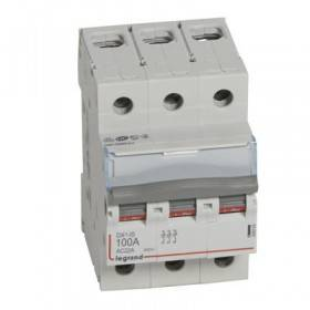 Interrupteur-sectionneur DX³-IS 3P 400V~ - 100A - 3 modules LEGRAND