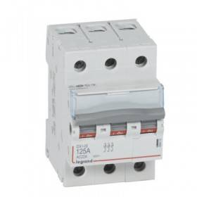 Interrupteur-sectionneur DX³-IS 3P 400V~ - 125A - 3 modules LEGRAND