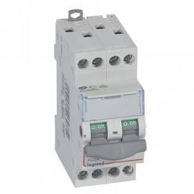Interrupteur-sectionneur DX³-IS 4P 400V~ - 20A - 2 modules LEGRAND