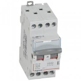 Interrupteur-sectionneur DX³-IS 4P 400V~ - 32A - 2 modules LEGRAND