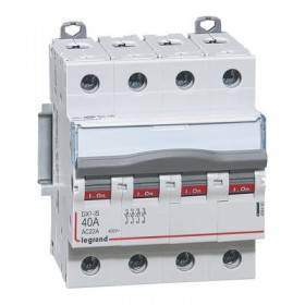 Interrupteur-sectionneur DX³-IS 4P 400V~ - 40A - 4 modules LEGRAND