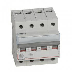 Interrupteur-sectionneur DX³-IS 4P 400V~ - 100A - 4 modules LEGRAND