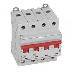 Interrupteur-sectionneur DX³-IS à déclenchement 4P 400V~ - 40A - 4 modules LEGRAND