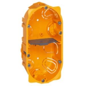 Boîte multiposte Batibox 2 postes ou 4 à 5 modules - profondeur 40mm LEGRAND