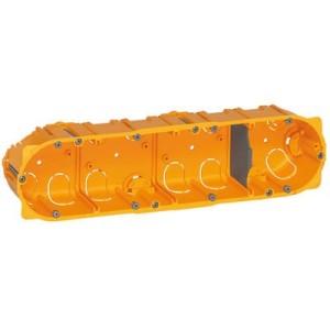 Boîte multiposte Batibox 4 postes ou 8 à 10 modules - profondeur 40mm LEGRAND