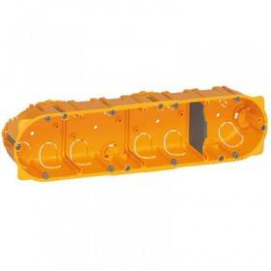 Boîte monoposte Batibox 4 postes 8 à 10 modules - profondeur 50mm LEGRAND