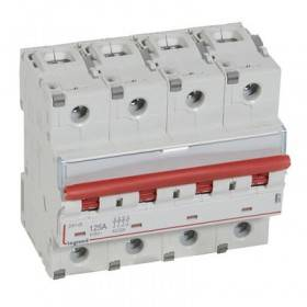 Interrupteur-sectionneur DX³-IS à déclenchement 4P 400V~ - 125A - 6 modules LEGRAND