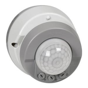 Détecteur de mouvements 3 fils ECO1 Plexo complet IP55 saillie - gris LEGRAND
