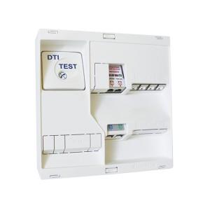 Tableau de communication NÉO - Grade 2TV - 4 RJ45 DTI + Filtre TV 2S MICHAUD