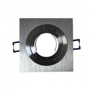 Support de spot carré aluminium orientable 92x92mm VISION EL