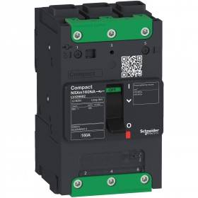 Interrupteur-Sectionneur Compact NSXm - 160A - 3P - Everlink SCHNEIDER