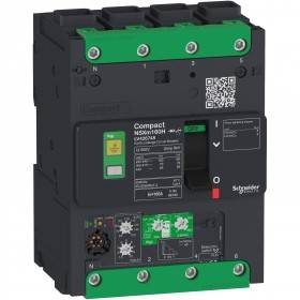 Disjoncteur Vigi Compact NSXm - 50kA - Micrologic 4.1 - 50A - 4P - Everlink SCHNEIDER