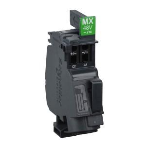 Bobine MX - 208/277Vca - 50/60Hz - 250Vcc - Compact NSXm, Powerpact B, TeSys GV4 SCHNEIDER
