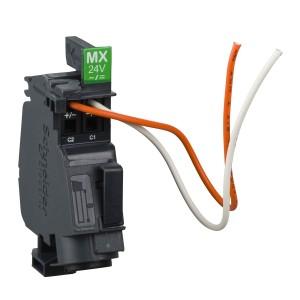 Bobine MX cablée - 208/277Vca - 50/60Hz -250Vcc - Compact NSXm et Powerpact B SCHNEIDER