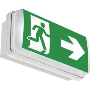 Bloc d'éclairage de sécurité d'évacuation à LED KAUFEL