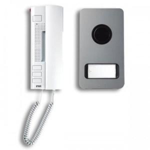 Kit Interphone Audio MIKRA Alu - 2 fils URMET