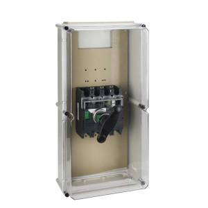 Coffret étanche pour Interpact INS320 à 630 poignée noire plastique SCHNEIDER