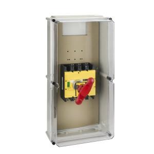 Coffret étanche pour Interpact INS320 à 630 poignée rouge plastique SCHNEIDER
