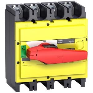 Interrupteur-sectionneur 400A 4P - Compact INS400 SCHNEIDER