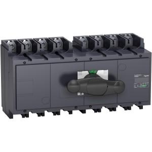 Inverseur de source manuel monobloc Interpact INS400 4P 400 A SCHNEIDER