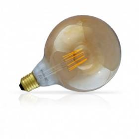 Ampoule LED E27 G125 filament 8W 2700°K Golden VISION EL