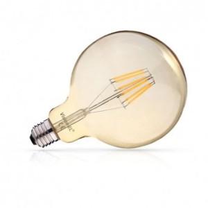 Ampoule LED E27 G125 filament dimmable 8W 2700°K VISION EL