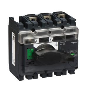 Interrupteur-sectionneur 100A 3P à coupure visible - Compact INV100 SCHNEIDER
