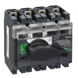 Interrupteur-sectionneur 100A 4P à coupure visible - Compact INV100 SCHNEIDER