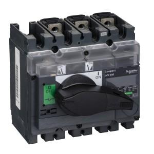 Interrupteur-sectionneur 200A 3P à coupure visible - Compact INV200 SCHNEIDER