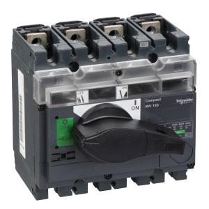 Interrupteur-sectionneur 160A 4P à coupure visible - Compact INV160 SCHNEIDER