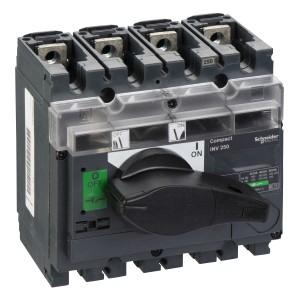 Interrupteur-sectionneur 250A 4P à coupure visible - Compact INV250 SCHNEIDER