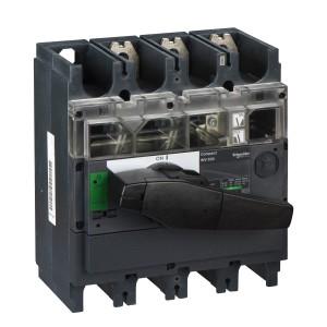 Interrupteur-sectionneur 630A 3P à coupure visible - Compact INV630 SCHNEIDER