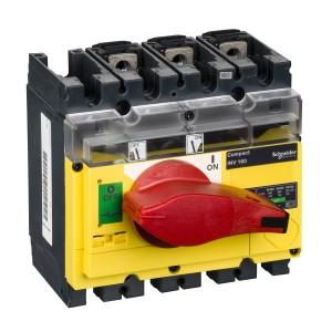Interrupteur-sectionneur 160A 3P à coupure visible - Compact INV160 SCHNEIDER