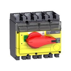 Interrupteur-sectionneur 4P 250A à coupure visible - Compact INV250 SCHNEIDER