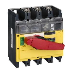 Interrupteur-sectionneur 320A 3P à coupure visible - Compact INV320 SCHNEIDER