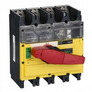Interrupteur-sectionneur 320A 4P à coupure visible - Compact INV320 SCHNEIDER