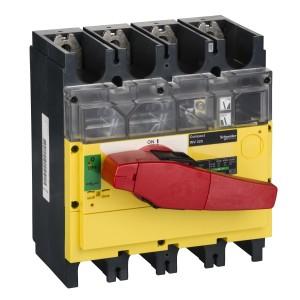 Interrupteur-sectionneur Interpact INV320 4P 320A à coupure visible SCHNEIDER