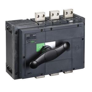 Interrupteur-sectionneur Interpact INS1250 3P 1250 A - Boitier moulé SCHNEIDER