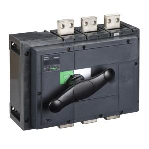 Interrupteur-sectionneur 1600A 4P - Boitier moulé - Compact INS1600 SCHNEIDER