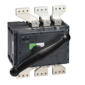 Interrupteur-sectionneur 2000A 3P - Boitier moulé - Compact INS2000 SCHNEIDER