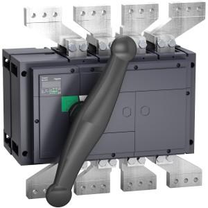Interrupteur-sectionneur 2000A 4P - Boitier moulé - Compact INS2000 SCHNEIDER